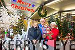 Margaret Moloney, Grainne Moloney, Emily Moloney with Kerry Brassil (Listowel Garden Centre) enjoying Christmas Display at Listowel Garden Centre