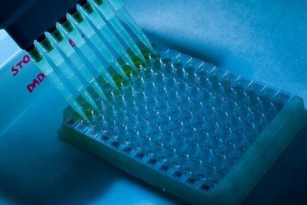 Belo Horizonte_MG, Brasil...Laboratorios da FUNED ( Fundacao Ezequiel Dias ). Na foto tubos de ensaio...FUNED ( Fundacao Ezequiel Dias ) laboratory. In this photo vials. ..FOTO: LEO DRUMOND / NITRO.