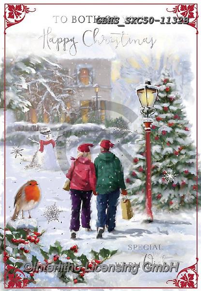 John, CHRISTMAS LANDSCAPES, WEIHNACHTEN WINTERLANDSCHAFTEN, NAVIDAD PAISAJES DE INVIERNO, paintings+++++,GBHSSXC50-1132B,#xl#