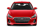 Car photography straight front view of a 2018 Hyundai i30 Twist 5 Door Hatchback