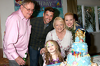LOS ANGELES - NOV 25:  Scott Bailey and Parents, Amelie Bailey, Adrienne Frantz at the Amelie Bailey 3rd Birthday Party at a Private Residence on November 25, 2018 in Studio City, CA