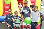 Victor, Daniel, Alan and Alex Oniwona at the Drogheda Leisure Park Fun Day...Photo NEWSFILE/Jenny Matthews.(Photo credit should read Jenny Matthews/NEWSFILE)....This Picture has been sent you under the condtions enclosed by:.Newsfile Ltd..The Studio,.Millmount Abbey,.Drogheda,.Co Meath..Ireland..Tel: +353(0)41-9871240.Fax: +353(0)41-9871260.GSM: +353(0)86-2500958.email: pictures@newsfile.ie.www.newsfile.ie.FTP: 193.120.102.198.
