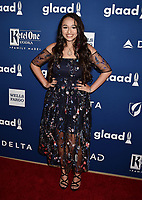 BEVERLY HILLS, CA - APRIL 12: YouTube personality Jazz Jennings attends the 29th Annual GLAAD Media Awards at The Beverly Hilton Hotel on April 12, 2018 in Beverly Hills, California.<br /> CAP/ROT/TM<br /> &copy;TM/ROT/Capital Pictures