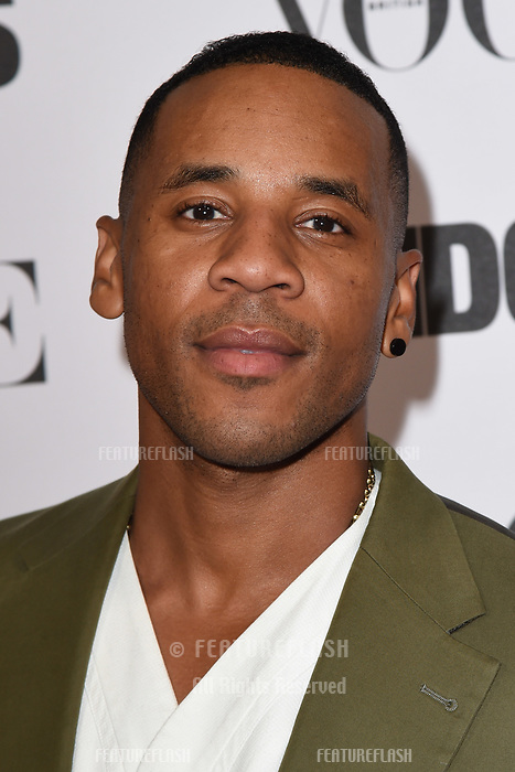 LONDON, UK. October 31, 2018: Reggie Yates at the &quot;Widows&quot; special screening in association with Vogue at the Tate Modern, London.<br /> Picture: Steve Vas/Featureflash