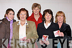 ...TICKETS: Lucky to get tickets for Mercy Mounthawk TY Mardi Gras Fashion show in the school gym on Wednesday: l-r: Martina Quirke, Eileen Kennedy, Mairead Moore, Mary Burke (Castlegregory) and Anne ............   Copyright Kerry's Eye 2008