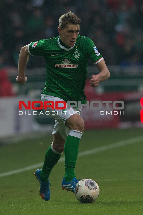 26.01.2014, Weser Stadion, Bremen, GER, 1.FBL, Werder Bremen vs Eintracht Braunschweig, im Bild<br /> <br /> Nils Petersen (Bremen #24)<br /> <br /> Foto &copy; nordphoto / Kokenge