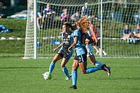 Kansas City, MO - Sunday September 11, 2016: Vanessa DiBernardo,Casey Short during a regular season National Women's Soccer League (NWSL) match between FC Kansas City and the Chicago Red Stars at Swope Soccer Village.