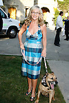 "Actress Rachel Harris arrives at the Much Love Animal Rescue Presents The Second Annual ""Bow Wow WOW!"" at The Playboy Mansion on July 19, 2008 in Beverly Hills, California."