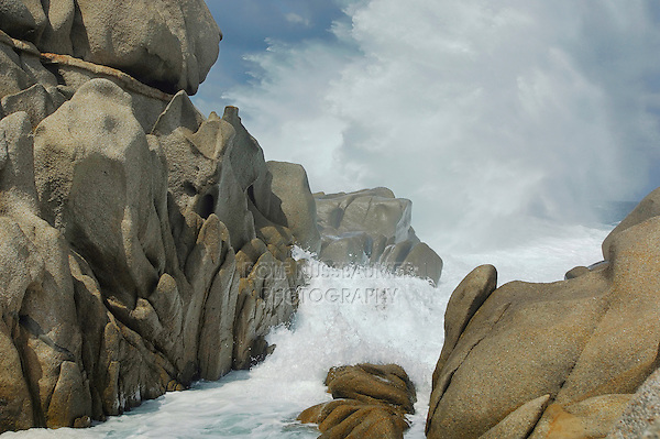 Coast line, Gallura, Sardinia, Italy