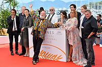 Terry Gilliam &amp; cast at the photocall for &quot;The Man Who Killed Don Quixote&quot; at the 71st Festival de Cannes, Cannes, France 19 May 2018<br /> Picture: Paul Smith/Featureflash/SilverHub 0208 004 5359 sales@silverhubmedia.com