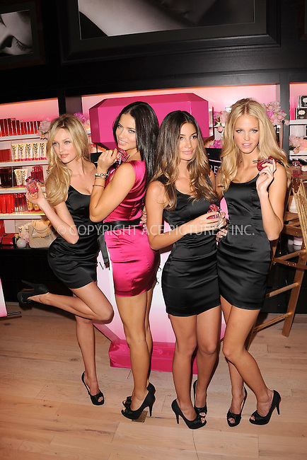 WWW.ACEPIXS.COM . . . . . .September 24, 2010...New York City....Candice Swanepoel, Adriana Lima, Lily Aldridge and Erin Heatherton attend Victoria's Secret Beauty 'Bombshell' fragrance launch at Victoria's Secret, SoHo September 24, 2010 in New York City....Please byline: KRISTIN CALLAHAN - ACEPIXS.COM.. . . . . . ..Ace Pictures, Inc: ..tel: (212) 243 8787 or (646) 769 0430..e-mail: info@acepixs.com..web: http://www.acepixs.com .