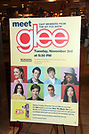 Billboard: Kevin McHale, Jenna UshKowitz, Amber Riley, Chris Colfer, Dianna Agron, Mark Salling, Lea Michele & Cory Monteith<br /> celebrating the release of the smash hit CD, glee - the music season one with an appearance at Borders Columbus Circle in New York City. November 3, 2009