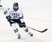 Chad Ziegler (Yale - 59) - The Yale University Bulldogs defeated the Air Force Academy Falcons 2-1 (OT) in their East Regional Semi-Final matchup on Friday, March 25, 2011, at Webster Bank Arena at Harbor Yard in Bridgeport, Connecticut.