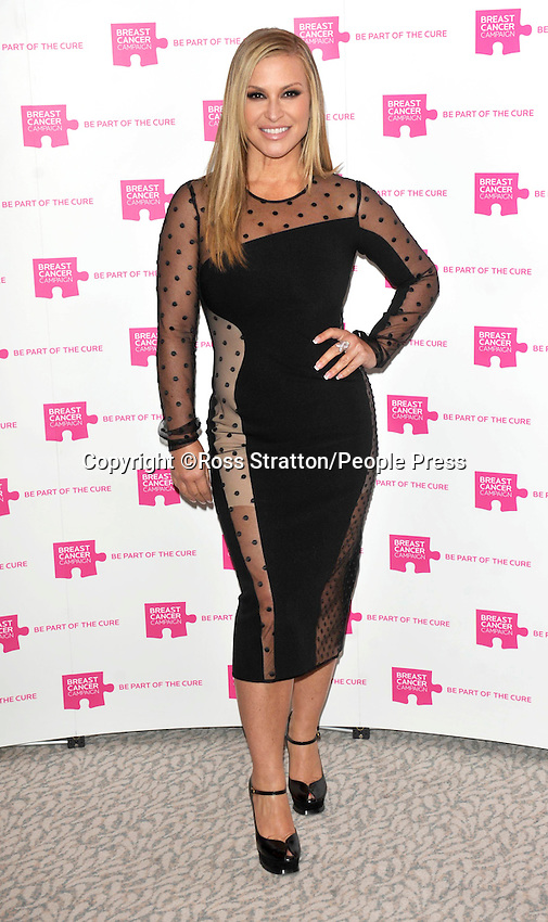 London - Pink Ribbon Ball at the Dorchester Hotel, Park Lane, London - October 8th 2011..Photo by Ross Stratton