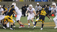Stanford, Ca - November 19, 2016: The Cal Bears vs the Stanford Cardinal at California Memorial Stadium. Final score Cal Bears 31, Stanford Cardinal 45.