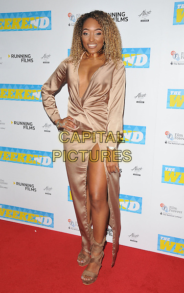Shanika Ocean at the &quot;The Weekend&quot; UK film premiere, Vue West End cinema, Leicester Square, London, England, UK, on Monday 28 November 2016. <br /> CAP/CAN<br /> &copy;CAN/Capital Pictures