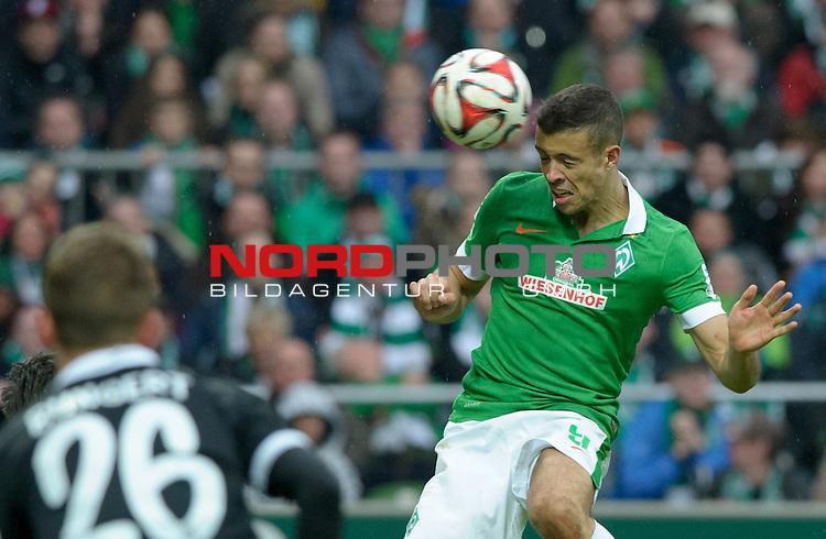 04.04.2015, Weserstadion, Bremen, GER, 1.FBL, Werder Bremen vs 1. FSV Mainz 05, im Bild Franco Di Santo (Bremen #9)<br /> <br /> Foto &copy; nordphoto / Frisch