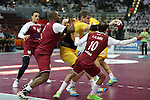 handball wordl cup match between Qatar vs Spain. Aguinagalde. 2015/01/21. Doha. Qatar. Alberto de Isidro.Photocall 3000