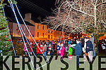 Gathering around the Christmas Tree in Dingle after Féile na Soilse parade on Sunday evening.