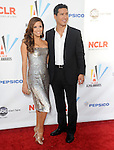 Eva Longoria Parker & Mario Lopez at The 2009 Alma Awards held at Royce Hall at UCLA in Westwood, California on September 17,2009                                                                   Copyright 2009 DVS / RockinExposures