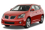 Front three quarter view of a 2009 Pontiac Vibe GT.