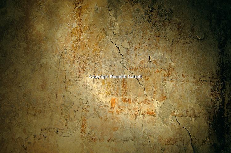 Teotihuacan warrior, mural, Holmul, Guatemala, Maya, Francisco Estradabelli, Sufricaya