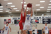 NWA Democrat-Gazette/J.T. WAMPLER Image from Rogers High School's 54-50 win over Carl Junction Thursday Dec. 6, 2018 at the Arvest HoopFest at Heritage High School in Rogers.