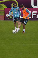 POLAND - Gniewino - 08 JUNE 2012 - Spanish National Team Training Session at Gniewino. Xabi Alonso.