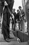 Blair Peach funeral. Southall west London 1979.