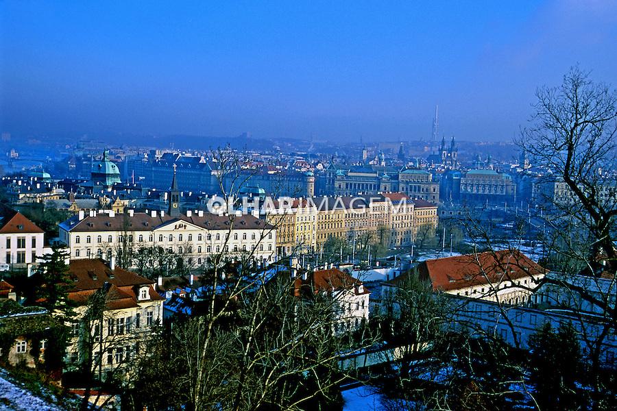 Vista da cidade de Praga, República Tcheca. 2000. Foto de Nair Benedicto.