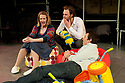 "© Under licence to London News Pictures. 03/02/2011. ""Company"", written by Stephen Sondheim, presented by MokitaGrit, opens at Southwark Playhouse. Juli J. Nagle (Jenny), Rupert Young (Bobby) and Steven Serlin (David). Picture credit should read: Jane Hobson/London News Pictures 03/02/2011. ""Company"", written by Stephen Sondheim, presented by MokitaGrit, opens at Southwark Playhouse. Picture credit should read: Jane Hobson"