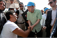 2016 06 18 UN General Secretary Ban Ki-moon visits Lesbos, Greece