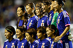 Japan team group line-up (JPN), <br /> MAY 28, 2015 - Football / Soccer : Kirin Challenge Cup 2015 match between Womens Japan and Womens Italy at Minami Nagano Sports Park, Nagano, Japan. <br /> (Photo by AFLO) [2268]