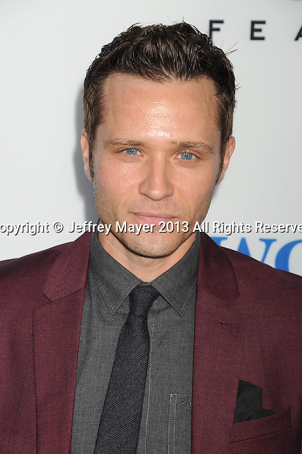 HOLLYWOOD, CA- AUGUST 21: Actor Seamus Dever arrives at the Los Angeles premiere of 'The World's End' at ArcLight Cinemas Cinerama Dome on August 21, 2013 in Hollywood, California.