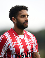Lincoln City's Bruno Andrade<br /> <br /> Photographer Chris Vaughan/CameraSport<br /> <br /> The EFL Sky Bet League Two - Lincoln City v Crewe Alexandra - Saturday 6th October 2018 - Sincil Bank - Lincoln<br /> <br /> World Copyright &copy; 2018 CameraSport. All rights reserved. 43 Linden Ave. Countesthorpe. Leicester. England. LE8 5PG - Tel: +44 (0) 116 277 4147 - admin@camerasport.com - www.camerasport.com