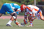 Philadelphia Barrage vs Los Angeles Riptide.Home Depot Center, Carson California.Anthony Kelly (#34) and Jason Motta (#21).506P8323.JPG.CREDIT: Dirk Dewachter