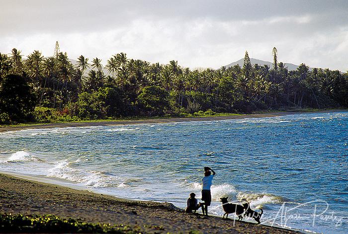 Poindimié, plage de Tiéti