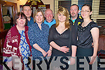 Nora Lyne, Declan Corcoran, Marie Tynan, Dave Fleming, Chloe Tangney, Patrick Fleming and Sandra Fleming pictured as they welcomed in 2011 in the Old Killarney Inn, Aghadoe on Friday night.