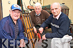 Pictured at the official opening of the Killarney Mens Shed on Wednesday were Jerry Murphy, Brendan Griffin and Eugene Carton...................................................................