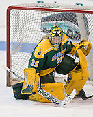 Emily Horn (Clarkson - 35) - The Northeastern University Huskies defeated the visiting Clarkson University Golden Knights 5-2 on Thursday, January 5, 2012, at Matthews Arena in Boston, Massachusetts.