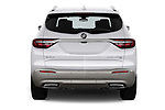 Straight rear view of a 2018 Buick Enclave Avenir 5 Door SUV stock images