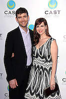 Kevin Price, Sara Rue<br /> at the 16th Annual From Slavery to Freedom Gala Event. Skirball Center, Los Angeles, CA 05-29-14<br /> David Edwards/DailyCeleb.Com 818-249-4998