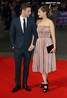 Jamie Bell and Kate Mara at the BFI London Film Festival - Film Stars Don't Die In Liverpool - The Mayfair Hotel Gala, Odeon Leicester Square, London on October 11th 2017<br /> CAP/ROS<br /> &copy; Steve Ross/Capital Pictures /MediaPunch ***NORTH AND SOUTH AMERICAS ONLY***
