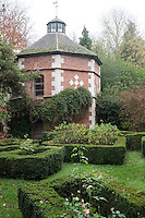An octagonal 17th century dovecot overlooks what once was the formal garden