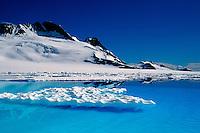 Glacial melt ponds