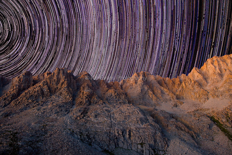 Star Trails at Mt. Darwin