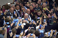Pope Francis during of a weekly general audience at St Peter's square in Vatican, Wednesday,November. 28, 2018.