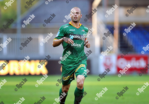 2014-07-26 / Voetbal / seizoen 2014-2015 / SK Lierse - KV Oostende / Jonathan Wilmet<br /><br />Foto: mpics.be