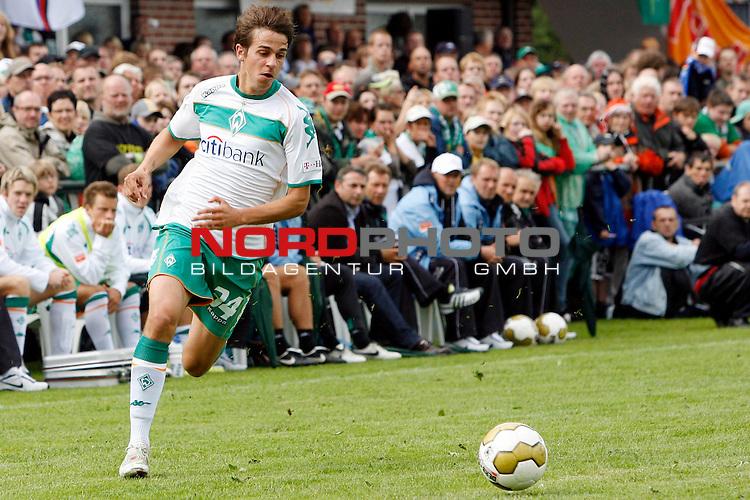 FBL 08/09 Test - BSV Kickers Emden vs. SV Werder Bremen in Loga bei Leer am 20.07.2008 1:2 (1:0)<br /> <br /> Freundschaftsspiel - Friendlymatch<br /> <br /> Martin Harnik (#34 AUT Werder Bremen).<br /> <br /> Foto &copy; nph (  nordphoto  ) *** Local Caption ***