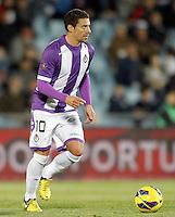Real Valladolid's Oscar Gonzalez during La Liga match.November 18,2012. (ALTERPHOTOS/Acero)